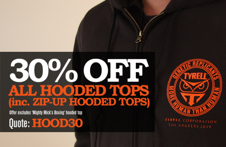 30% off hooded and zip-up hooded tops