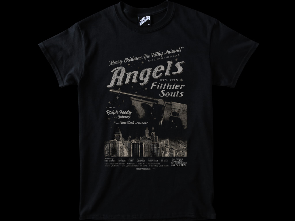 ANGELS WITH EVEN FILTHIER SOULS - HOME ALONE 2 INSPIRED T-SHIRT