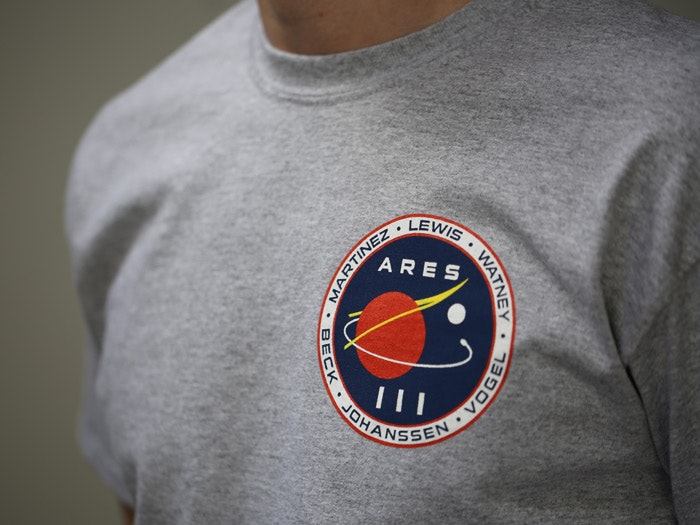 ARES III T-shirt inspired by The Martian