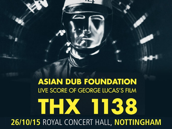 WIN tickets for Asian Dub Foundation Live Score of THX 1138