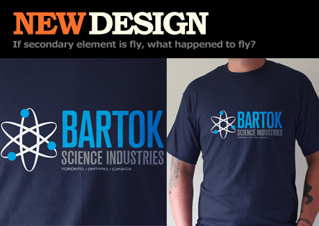 Bartok Science Industries T-shirt