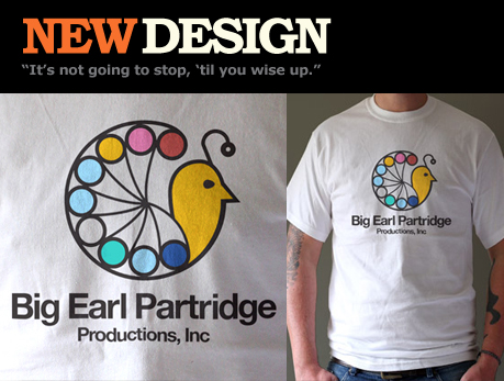 Big Earl Partridge Productions Inc. T-shirt
