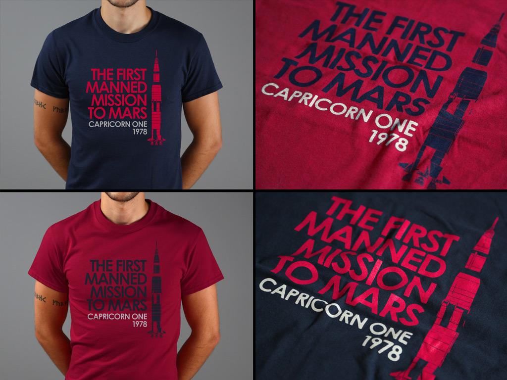 CAPRICORN ONE INSPIRED T-SHIRT