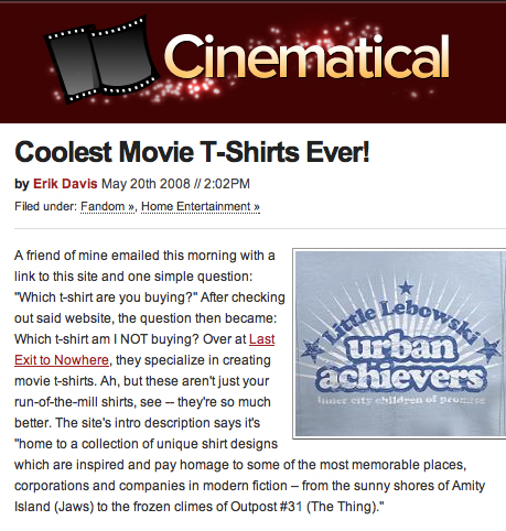 CINEMATICAL review