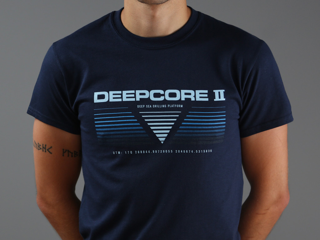 DEEPCORE II DEEP SEA DRILLING PLATFORM