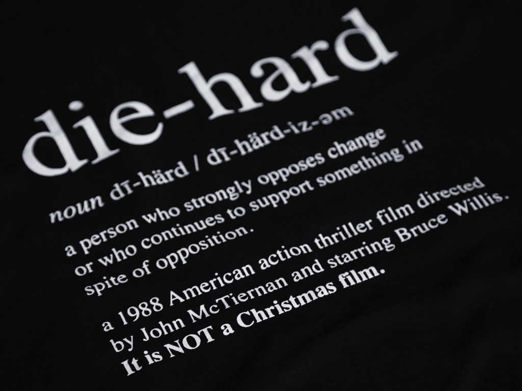 DIE HARD IS NOT A CHRISTMAS FILM