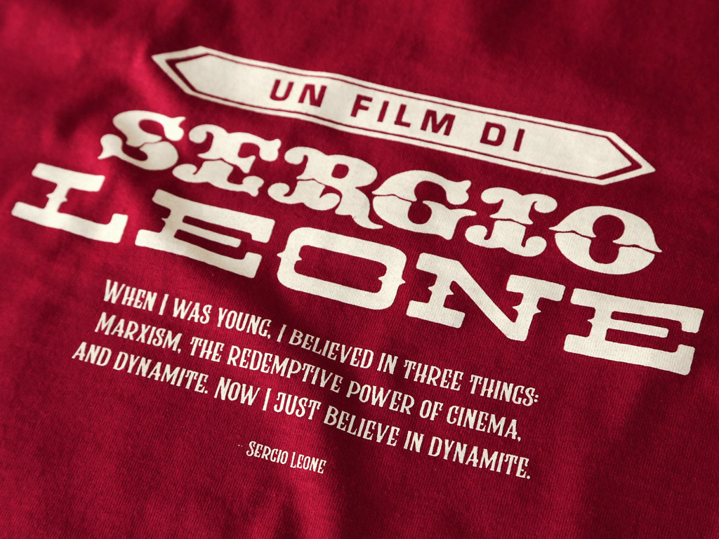 Inspired by Sergio Leone