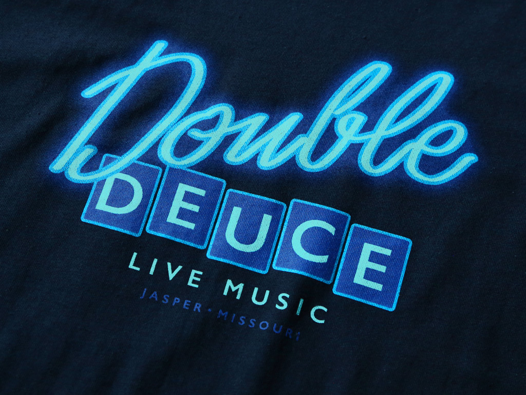 Double Deuce T-shirt inspired by the 1989 film, Road House