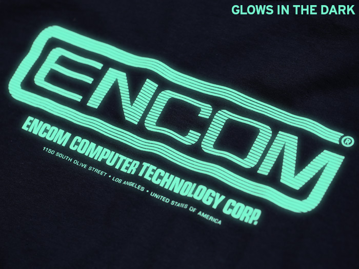 Glow in the dark Tron inspired T-shirt
