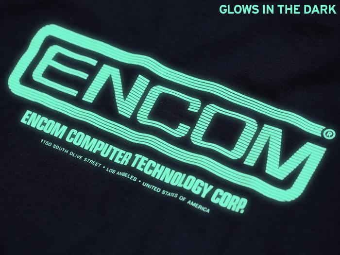 Glow in the dark Tron inspired T-shirt
