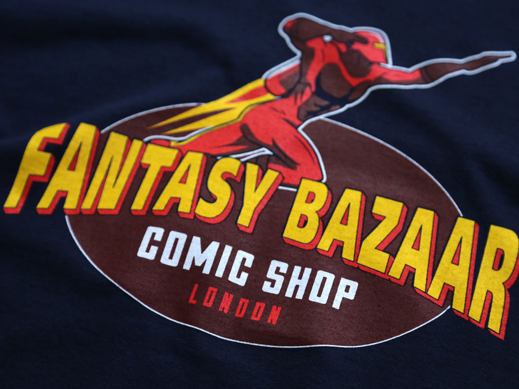 FANTASY BAZAAR T-SHIRT INSPIRED BY THE TV SERIES SPACED