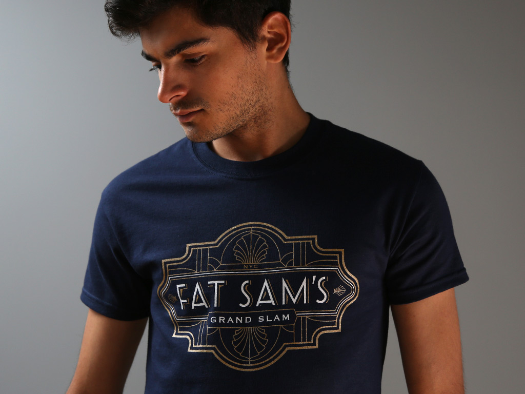 FAT SAM'S GRANDSLAM TSHIRT INSPIRED BY BUGSY MALONE