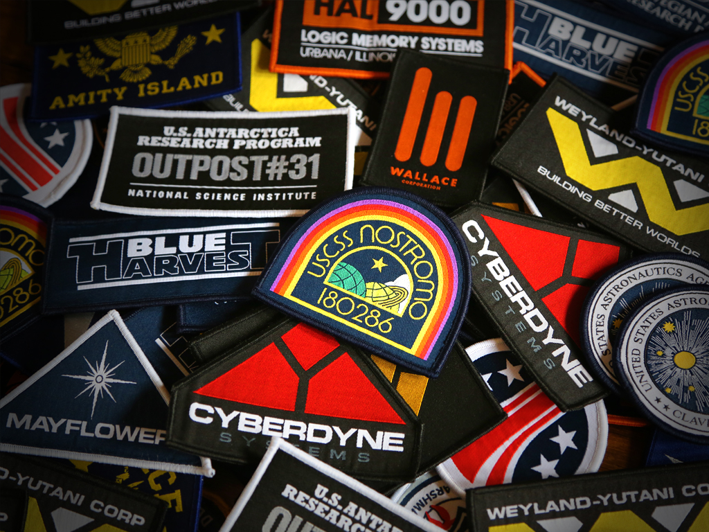 FILM INSPIRED PATCHES