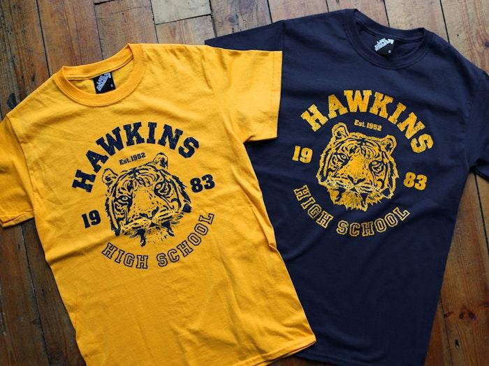 HAWKINS HIGH SCHOOL - INSPIRED BY STRANGER THINGS