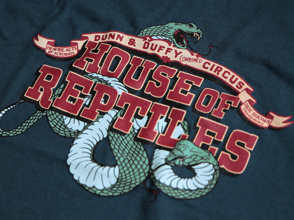 HOUSE OF REPTILES - INDIANA JONES AND THE LAST CRUSADE INSPIRED T-SHIRT