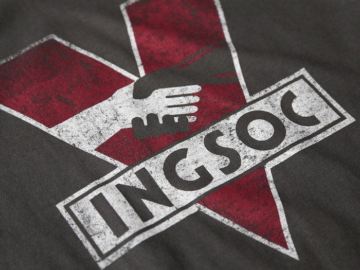 INGSOC T-SHIRT INSPIRED BY NINETEEN EIGHTY-FOUR