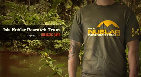 Isla Nublar T-shirt