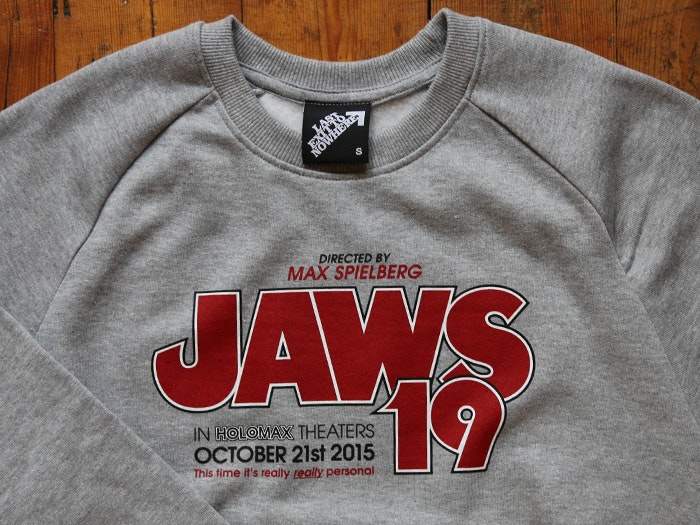JAWS 19 SWEATSHIRT - INSPIRED BY BACK TO THE FUTURE PART II