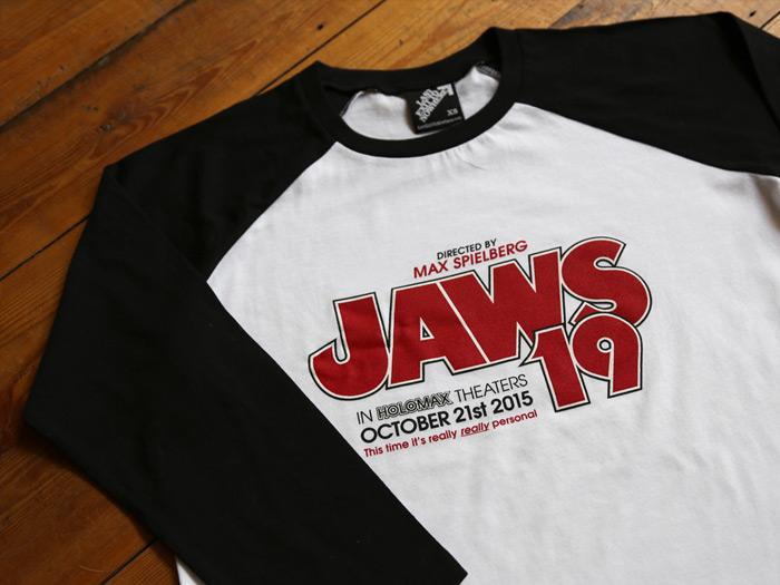 JAWS 19 - 3/4 Length Baseball Shirt