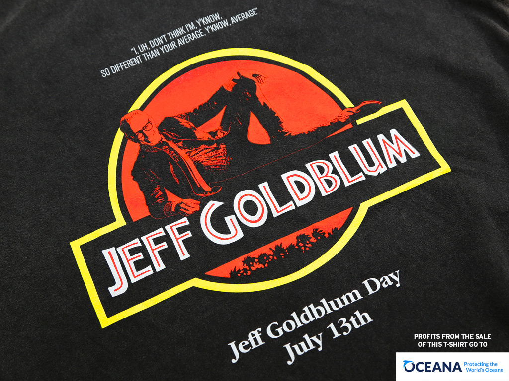 JEFF GOLDBLUM DAY