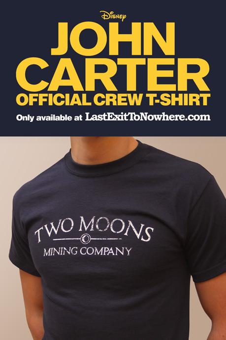 John Carter Crew T-shirt