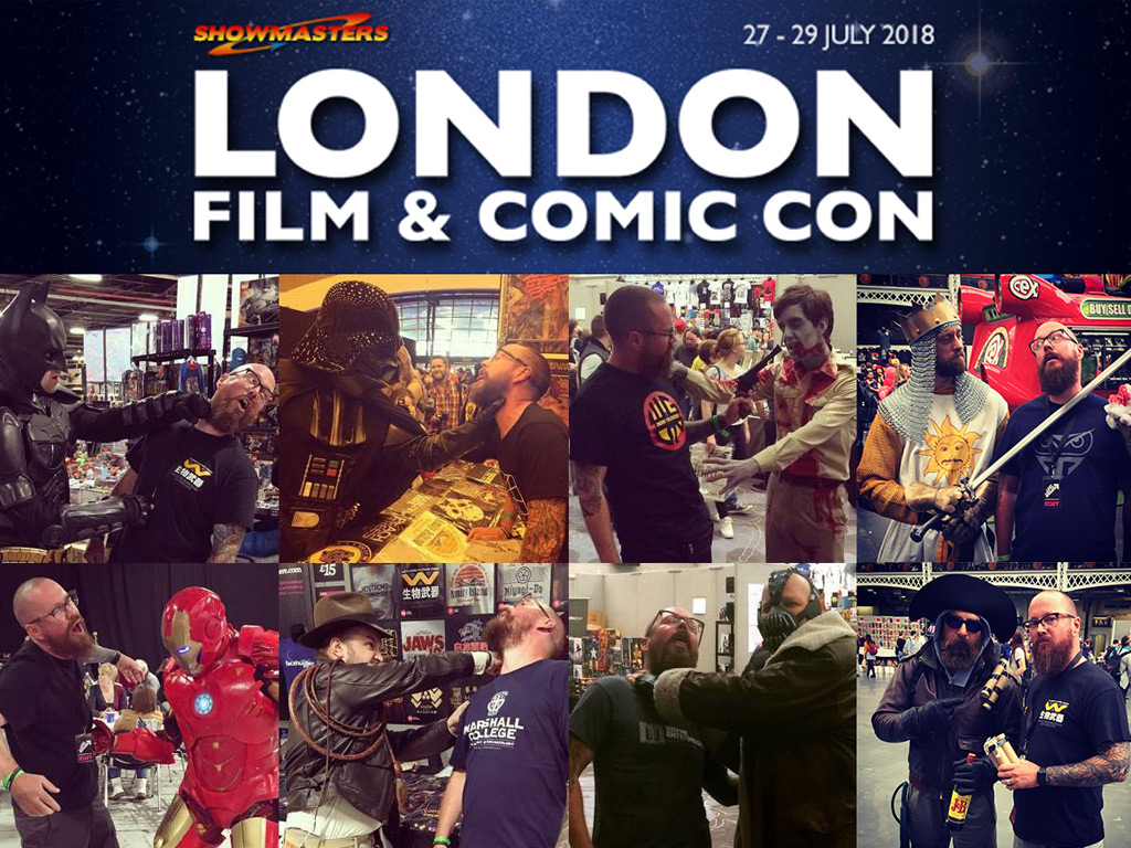 MEET THE TEAM AT LONDON FILM AND COMIC CON 2018