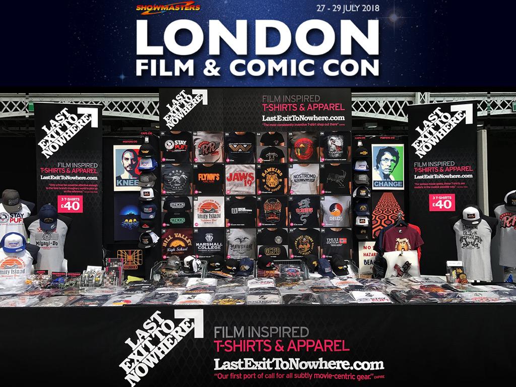 LONDON FILM AND COMIC CON 2018