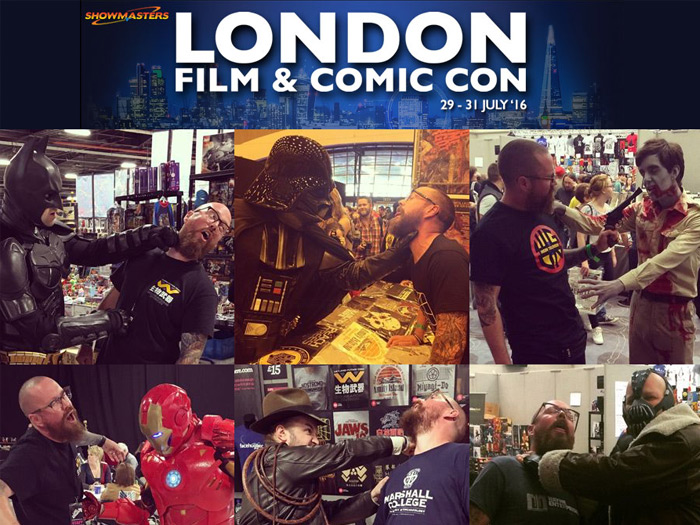 Last Exit to Nowhere at London Film and Comic Con 2016