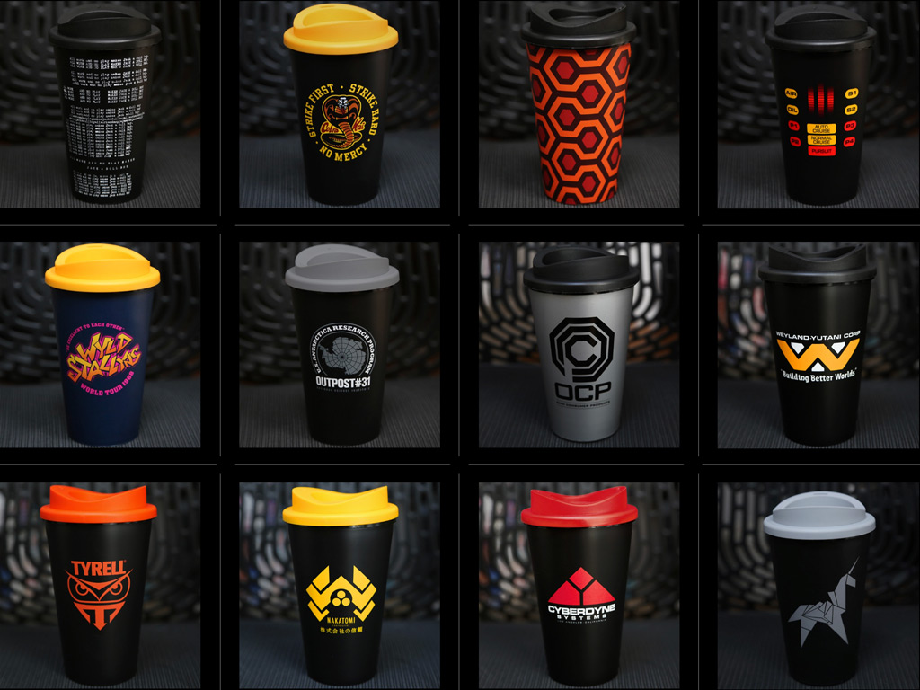 FILM AND TV INSPIRED TRAVEL MUGS