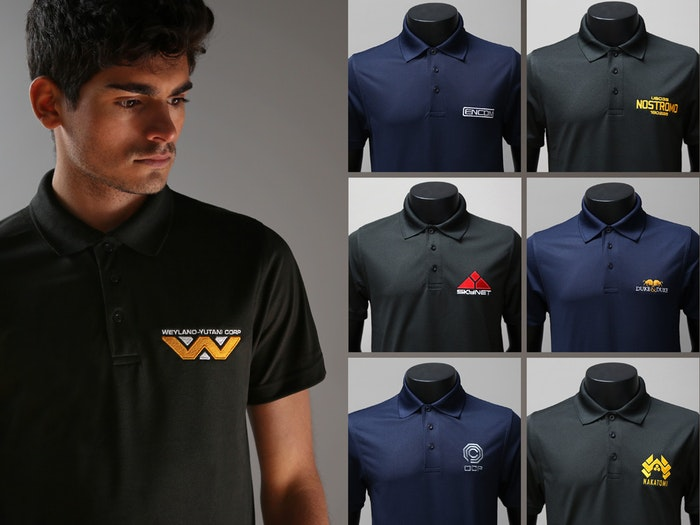 NEW range of film inspired corporate polo shirts