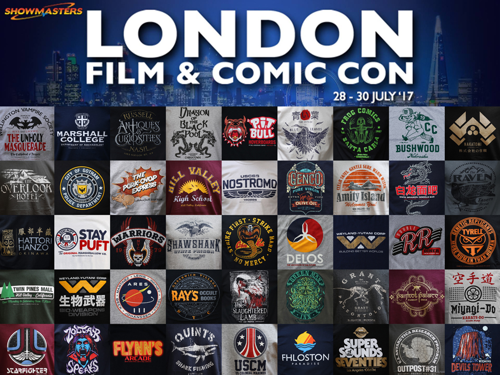 MEET US AT LONDON FILM AND COMIC CON 2017