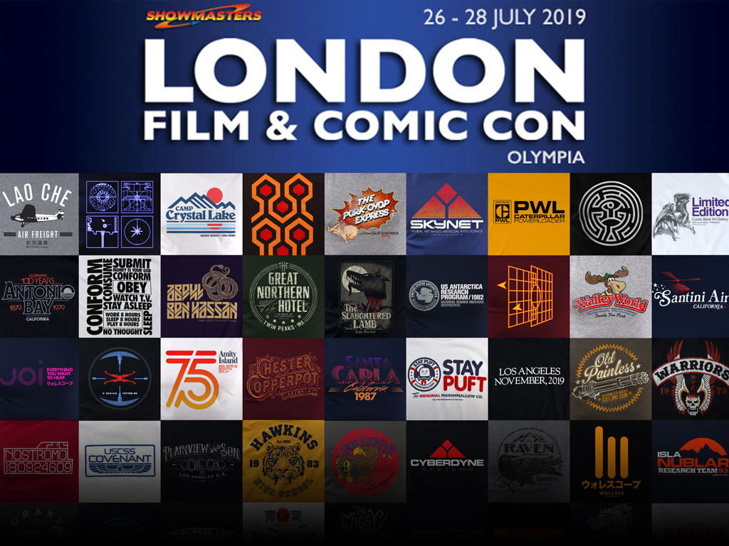 MEET US AT LONDON FILM AND COMIC CON 2019