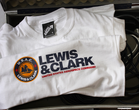 U.S.A.C. Lewis & Clark T-shirt