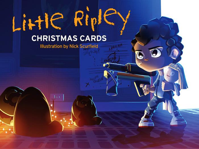 LITTLE RIPLEY CHRISTMAS CARDS