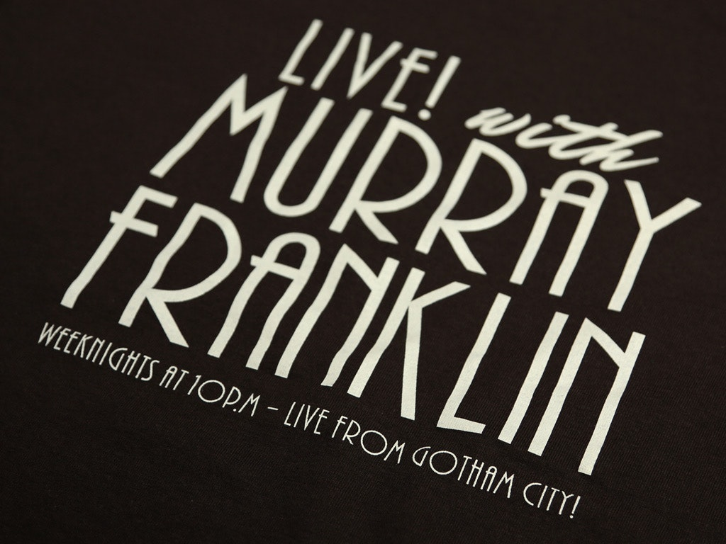 LIVE! WITH MURRAY FRANKLIN T-SHIRT INSPIRED BY THE 2019 FILM, JOKER