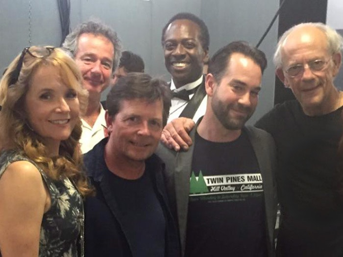 Back to the Future cast at London Film and Comic Con