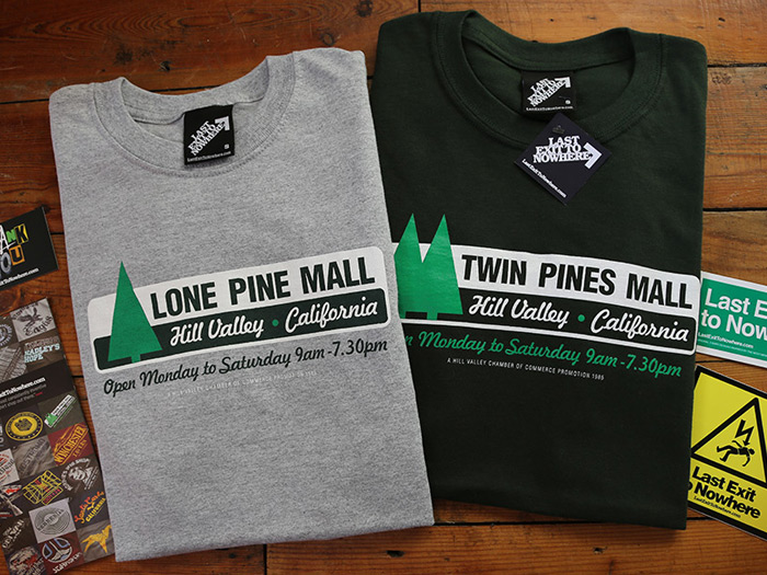 Lone Pine Mall - Back to the Future inspired T-shirt