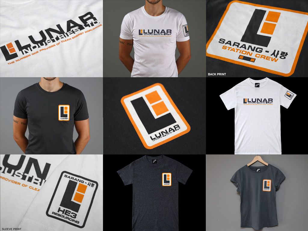 LUNAR INDUSTRIES - MOON INSPIRED T-SHIRTS