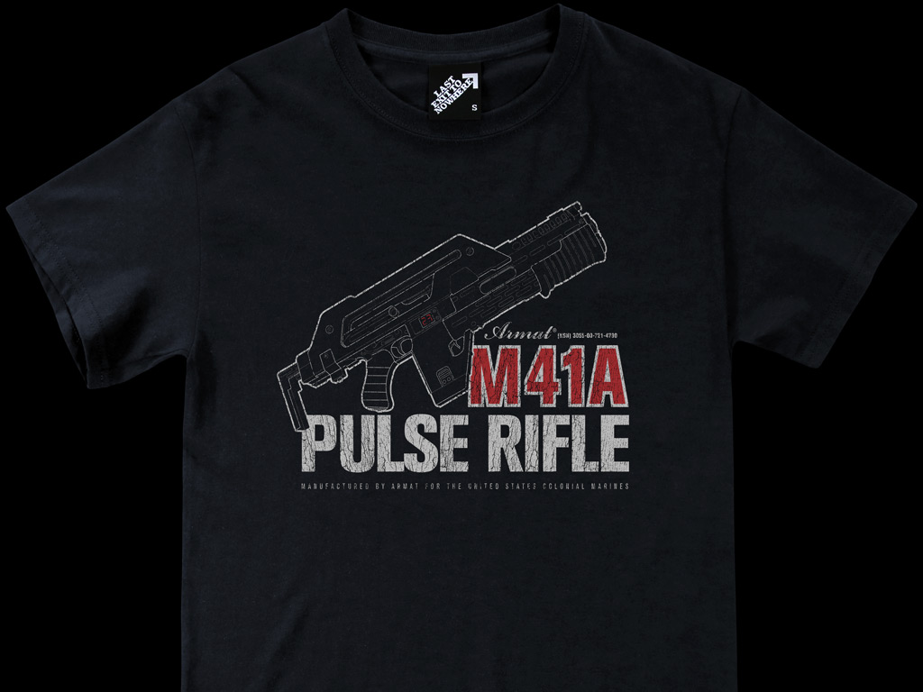 M41A PULSE RIFLE T-SHIRT INSPIRED BY ALIENS
