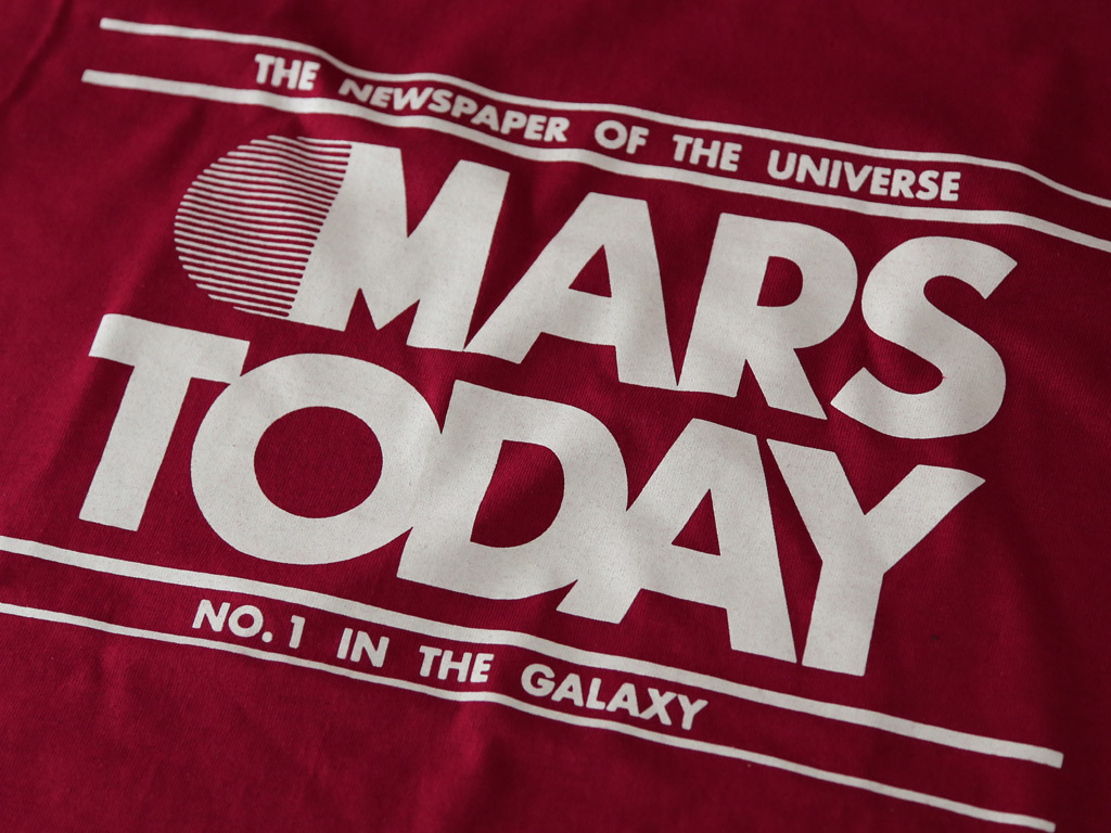 Mars Today T-shirt inspired by Total Recall