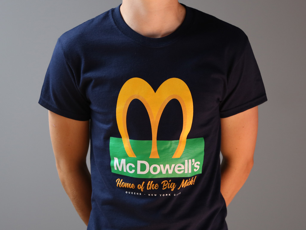 McDowell's T-shirt inspired by Coming to America