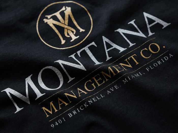 MONTANA MANAGEMENT COMPANY T-SHIRT INSPIRED BY SCARFACE