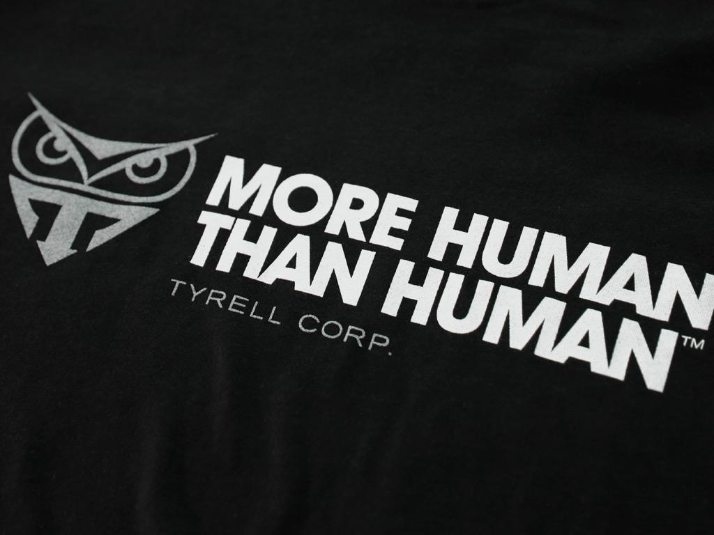MORE HUMAN THAN HUMAN - BLADE RUNNER INSPIRED T-SHIRT