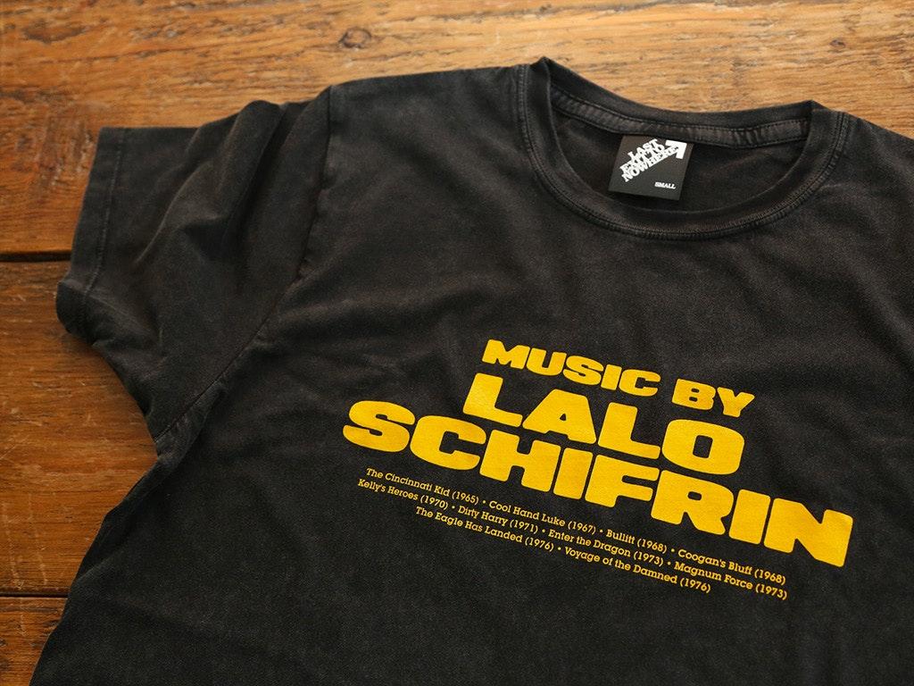 Music by Lalo Schifrin T-shirt