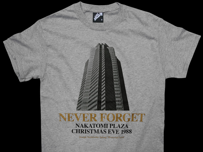 NEVER FORGET - DIE HARD INSPIRED T-SHIRT