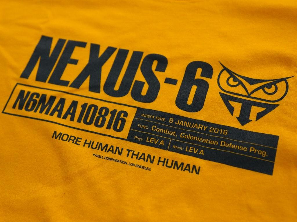 NEXUS-6 BLADE RUNNER INSPIRED T-SHIRT