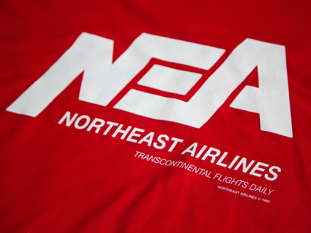Northeast Airlines T-shirt inspired by Die Hard 2