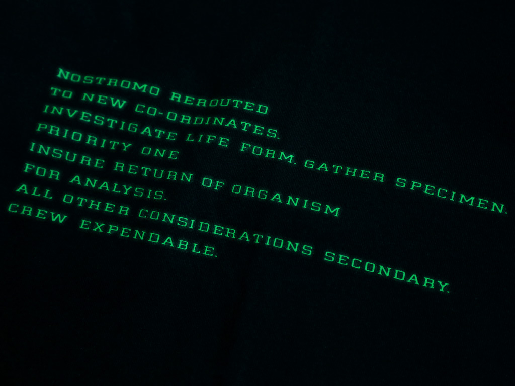 NOSTROMO REROUTED - ALIEN INSPIRED T-SHIRT