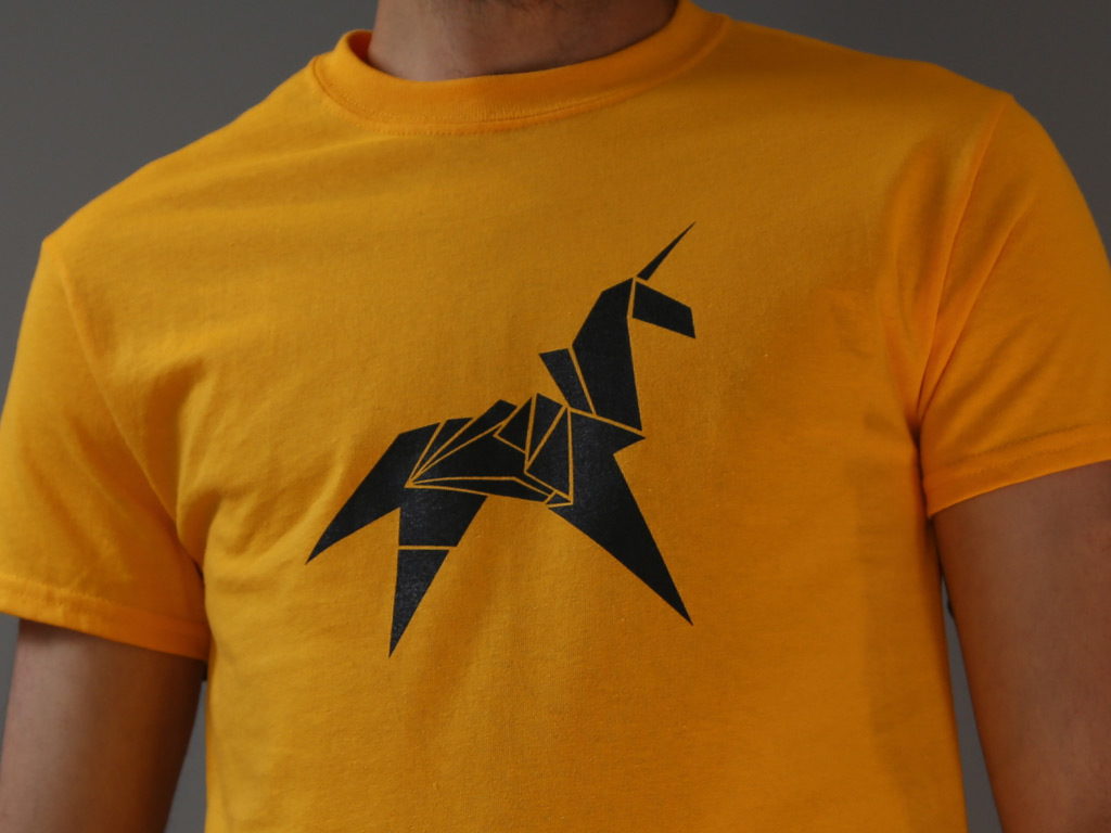 ORIGAMI UNICORN T-SHIRT INSPIRED BY BLADE RUNNER