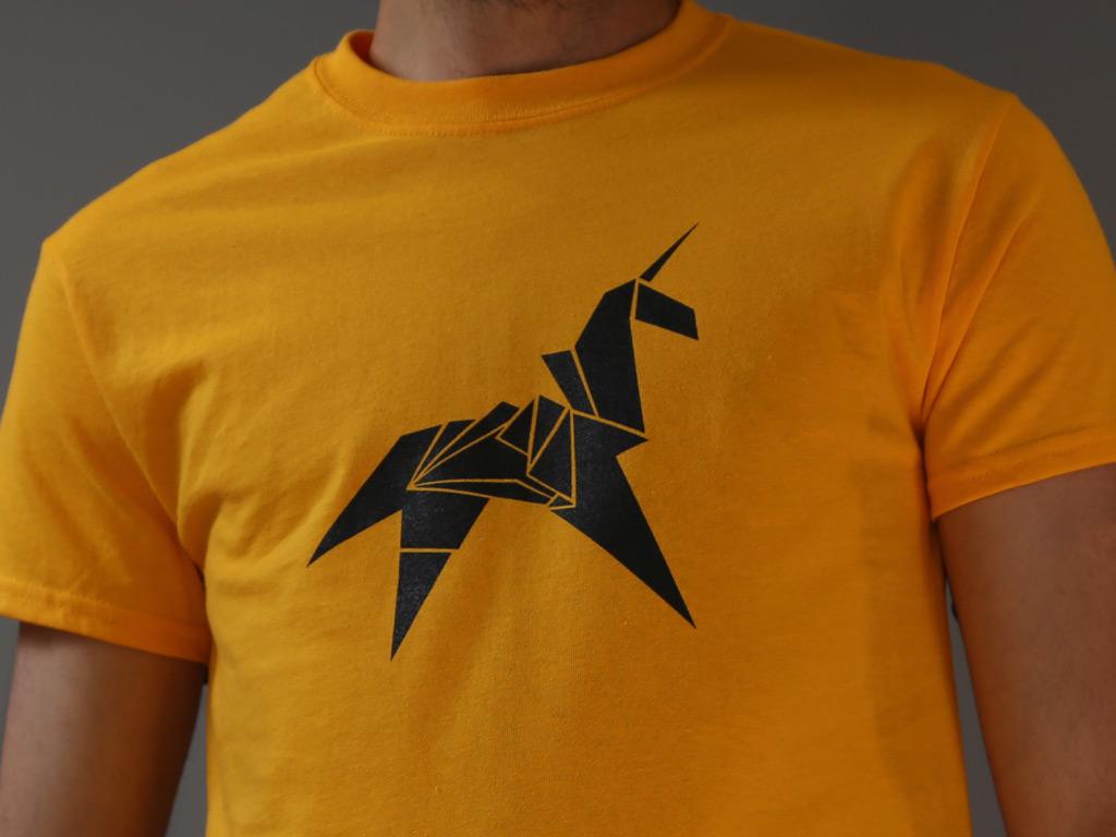 ORIGAMI UNICORN T-SHIRT INSPIRED BY BLADE RUNNER